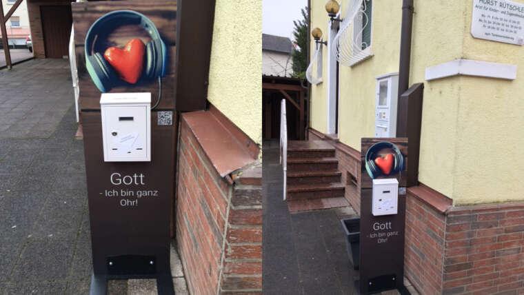 Gebetsbriefkasten in Mutterstadt